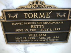 Betty <I>Sopkin</I> Torme