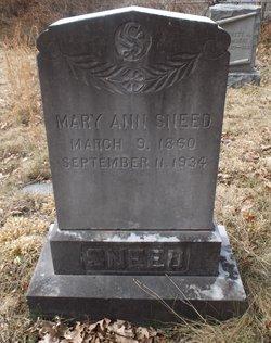 Mary A. Sneed