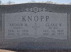 Clara Katurah <I>Roos</I> Knopp