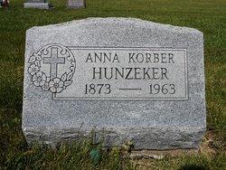 Anna Rose <I>Korber</I> Hunzeker