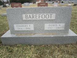 Doris Newton <I>Dickey</I> Barefoot