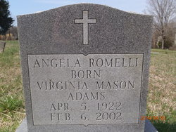 Virginia <I>Adams</I> Romelli