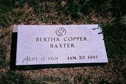 Bertha L <I>Copper</I> Baxter