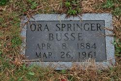 Ora <I>Springer</I> Busse