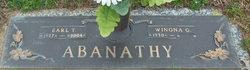 Earl T Abanathy