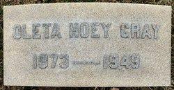Oleta <I>Hoey</I> Gray