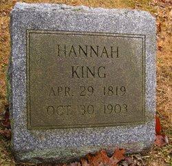 Hannah <I>Marble</I> King
