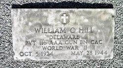 "Pvt William Clyde ""Rufus"" Hill"
