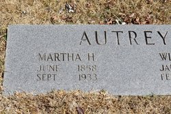Martha Harrison <I>Warren</I> Autrey