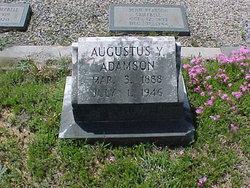 """Augustus Y. """"Guss"""" Adamson"""