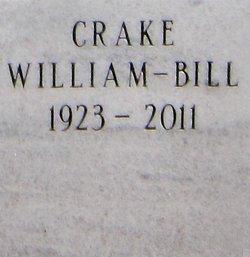 """William """"Bill"""" Crake"""