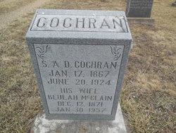Steven A. Douglas Cochran