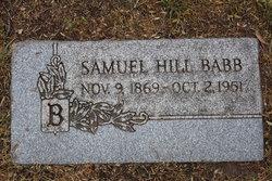 Samuel Hill Babb