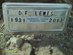 Denmon F. Lewis, Jr