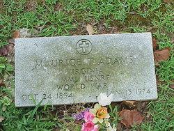 Maurice T Adams