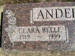 Clarabelle Rose <I>Kramer</I> Anderson