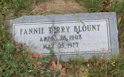 Fannie <I>Terry</I> Blount