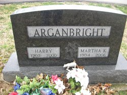 Martha <I>Keller</I> Arganbright
