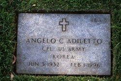 Angelo C Adiletto