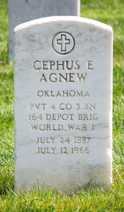 "Josephus Ewing ""Cephus"" Agnew"