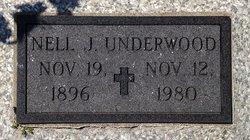 Nell Jane <I>Thompson</I> Underwood