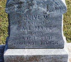 Olive <I>Alexander</I> Mark