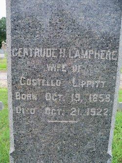 Gertrude Hopkins <I>Lamphere</I> Lippitt