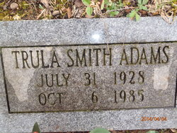 Trula <I>Smith</I> Adams
