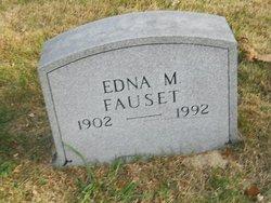 Edna M <I>Allshouse</I> Fauset