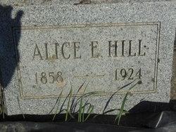 Alice E. <I>Thompson</I> Hill