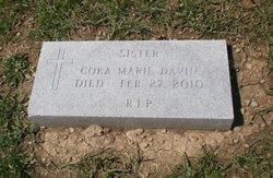 Sr. Cora Marie Davin