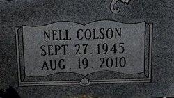 Nell <I>Colson</I> Benton