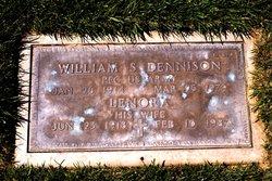William S Dennison