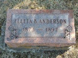 Fleeta Beatrice <I>Graves</I> Anderson