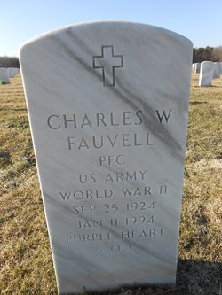Charles W Fauvell