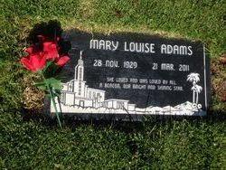 Mary Louise <I>Gerber</I> Adams
