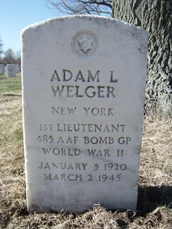 1LT Adam L Welger