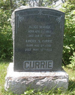 Alice Maude <I>Grant</I> Currie
