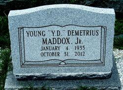 """Young Demetrius """"Y.D."""" Maddox, Jr"""