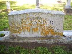 Mary M <I>McClendon</I> Alexander