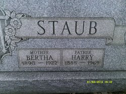 Bertha Staub