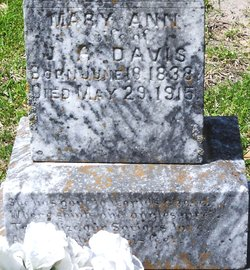 Mary Ann Elizabeth <I>Bennett</I> Davis