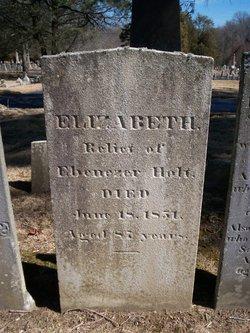 Elizabeth <I>Christophers</I> Holt