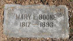 Mary E. <I>Stallard</I> Boone