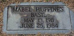 Mabel <I>Huffines</I> Basil