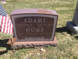 Effie H <I>Hume</I> Adams