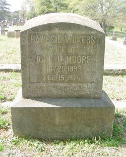 Hawesie <I>Vickers</I> Moore