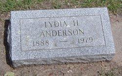Lydia H. <I>Richter</I> Anderson