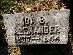 Ida B Alexander