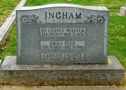 Dr George William Ingham